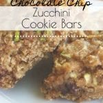 Need another yummy zucchini recipe to use up all that bountiful summer zucchini? Your family will love these Chocolate Chip Zucchini Cookie Bars! #zucchinirecipe #zucchinibars