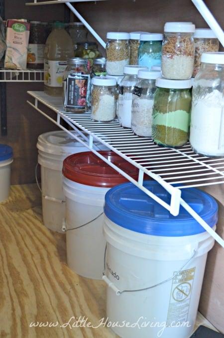 Bulk Foods in the Pantry