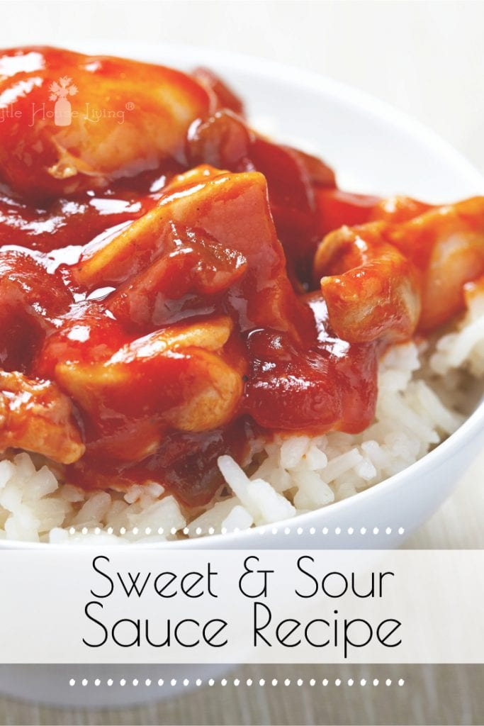 Sweet and Sour Sauce without Pineapple