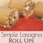 Need a simple meal for supper tonight that the whole family will enjoy? These Stuffed Lasagna Rolls can be made in no time! #lasagna #lasagnarolls #easydinner #whatsfordinner