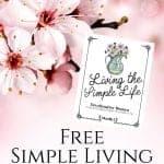 Simple Living Devotional