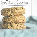 Need a great way to make a quick and inexpensive breakfast on the go for your family? They will love these Healthy Zucchini Breakfast Cookies so much that they won't even know that the zucchini is in them! #zucchinibreakfastcookies #breakfastcookiesrecipes