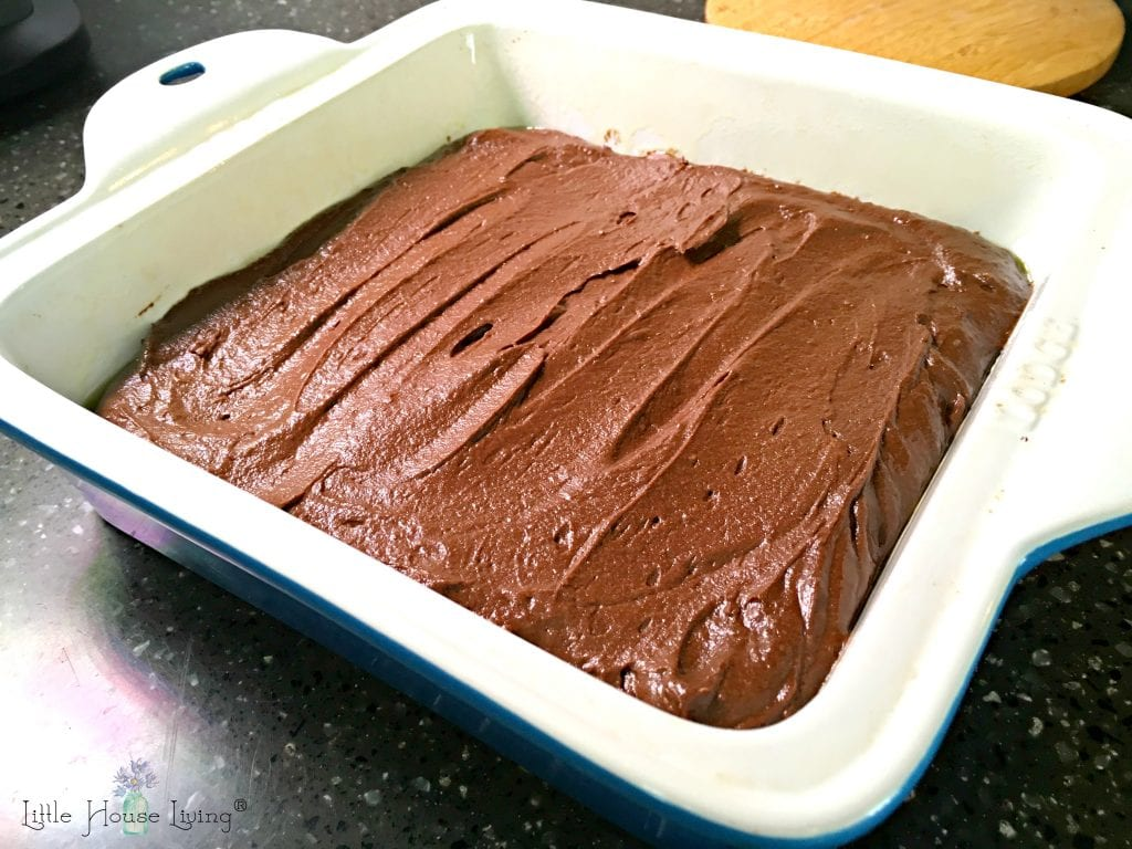 Brownies in a Baking Dish